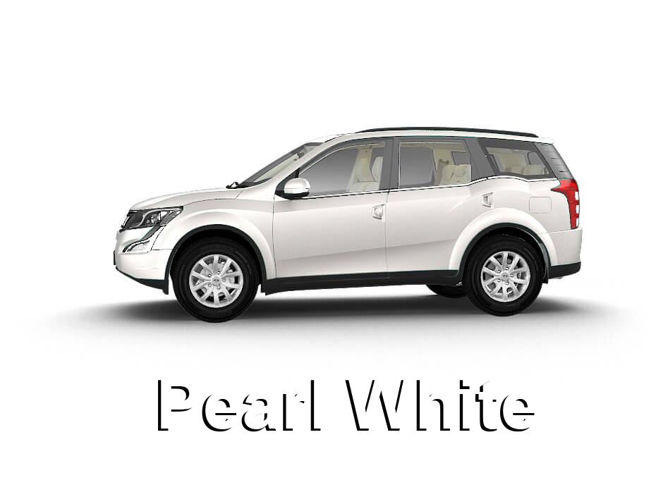 Mahindra Perl White
